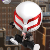 HOT TOYS HT COSBABY COSB770 SPIDERMAN 2099 WHITE SUIT