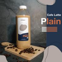 Kopi Susu Tanpa Gula 1 LITER| BITTERDROP - Cafe Latte Plain