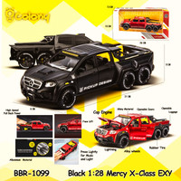 PROMO BBR1099 Mercy X-Class EXY Mainan Mobil DieCast Miniatur - Hitam