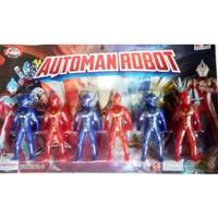 Mainan Robot Automan Isi 6 pcs No.2061-6