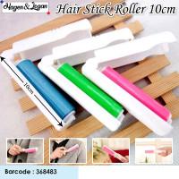 Hair Stick Roller- 10cm MINI Pembersih bulu hewan yang menempel dibaju