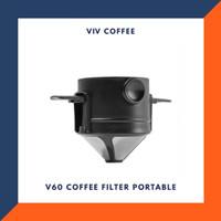 Filter Saringan Kopi V60 Dripper Portable
