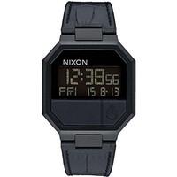 NIXON A944840 RERUN LEATHER BLACK CROC