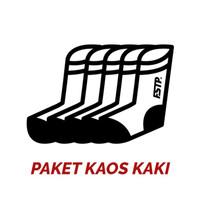 Set 4 Pasang Kaos Kaki Motif Fashion Footstep Footwear