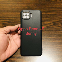 Case Oppo Reno 4F Case Softcase Slim Matte Original