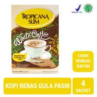 Tropicana Slim White Coffee (4 Sachet) - Sugar FREE