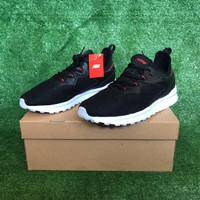OBRAL Sepatu Sneakers Piero Torakka - Black/White
