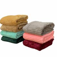 Selimut Fleece Polos Premium 180 x 200 CM