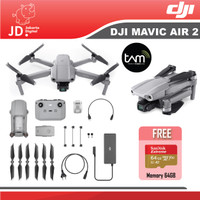 DJI Mavic Air 2 Basic ( Non Combo ) - Paket Memory 64GB