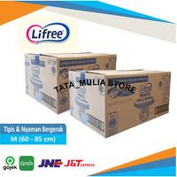 ORIGINAL !! Lifree M 1 Karton isi 48 Popok Celana Dewasa/ Adult Diaper