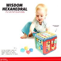 Baby Toys Wisdom Hexahedral 668-157 Mainan Bayi Edukasi Musikal Baby