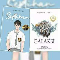 Paket 2 Novel Septihan & Galaksi by Poppi pertiwi