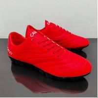 Sepatu Bola CALCI ATOM SC RED / BLACK