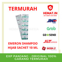 FLASH SALE EMERON HIJAB SHAMPOO SACHET 10 ML X 12 STRIP
