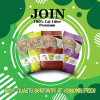 grab/gojek Pasir Kucing join premium 5 kg setara top cat litter