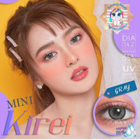 Softlens Kitty Kawaii Mini Kirei Gray - Abu-abu