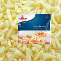 shredded mozzarella cheese anchor 250 gr. keju parut anchor