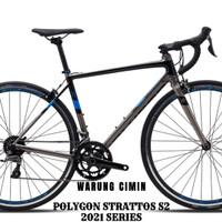 Sepeda balap Polygon STRATTOS S2 ROADBIKE (2.0) 2019 Ready Stok