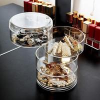 Rak Putar Perhiasan Kalung Cincin Ikat Rambut Gelang / Kotak Perhiasan