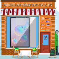 Tempered Glass Layar Samsung Tab S6 T860 T865 S Pen