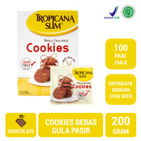 Tropicana Slim Cookies Nutty Chocolate