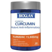 BIOGLAN Clinical Curcumin Turmeric 15,800 mg (60 tablets)