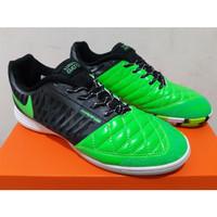 Sepatu Futsal Nike Lunar Gato II Green Black White