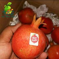 buah delima merah manis 1 buah
