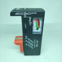 Batre Baterai TESTER Alat Ukur Analog Battery AA AAA 9V Premium