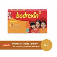 Bodrexin box 12 tablet ( mengatasi demam pada anak )