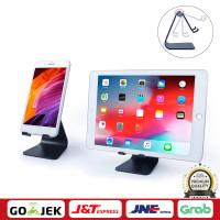 Universal Aluminium Alloy Tablet Stand Desk Holder Stand Cradle Mount - Hitam