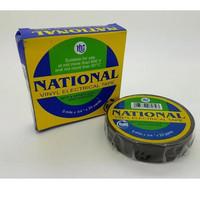 ISOLASI LISTRIK hitam NATIONAL NASIONAL Pvc Kabel Tape Hitam ORIGINAL