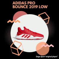 Adidas Pro Bounce 2019 Low Sepatu Basket ( bonus kaos ) - EF9841