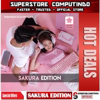 Fantech Sakura Edition Bundle - MK852 HG11 X17 MPR800s AC3001 Pink