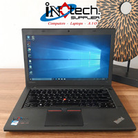 "Laptop Lenovo ThinkPad T460 - 14"" - Core i7 Gen 6 - Murah Berkualitas - 8GB-HDD500GB"