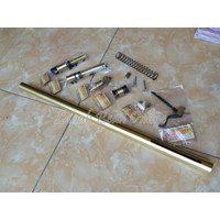 Pipa Set OD 25 tebal 2mm P. 85 cm V2 Murah