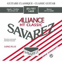 savarez 540R Alliance HT Classic Normal Tension Senar Gitar Klasik