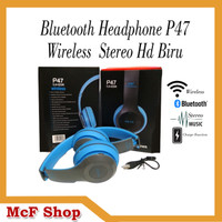 JBL P47 BLUETOOTH HEADPHONE WIRELESS STEREO HD HEADSET EARPHONE BANDO