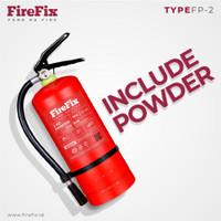 FIREFIX FP2 Powder 2 Kg Tabung Alat Pemadam Api Ringan APAR Kebakaran