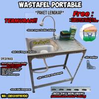 wastafel/ bak cuci piring portable--Standard--SB80 - Standard