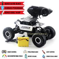 Mainan Mobil Offroad Remote Control Rocks Crawler - Perak