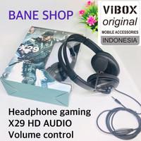 HEADSET - HANDSFREE - HF BANDO GAMING TYPE X27-X29 + MIC