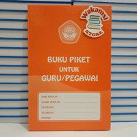 BUKU PIKET GURU/PEGAWAI (Packing Bubble Wrap)