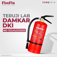 FIREFIX FP9 Powder 9 Kg Tabung Alat Pemadam Api Ringan APAR Kebakaran