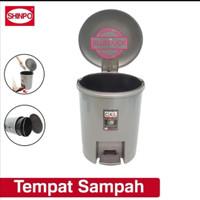 (GOJEK/GRAB) Tong sampah shinpo 840s/ tong sampah injak bulat