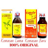 Curvit Sirup 60ml - Vitamin Penambah Nafsu Makan