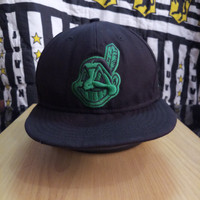 Topi baseball second new era original logo indian mlb