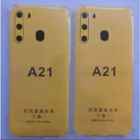 softcase jeli Samsung A21 anticrack softcase jeli samsung A21 anticrck