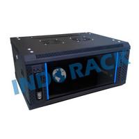 INDORACK WIR6008S WALLMOUNT RACK 8U DEPTH 600MM SINGLE DOOR