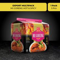Best Wok Mi Goreng Hot & Spicy 5 pcs (Export Multipack)